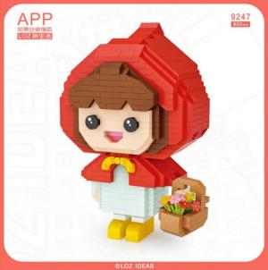 Little Red Riding Hood (diamond blocks)
