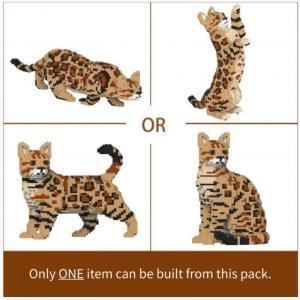 Bengal Cat 4-in-1 Pack 01S-M01