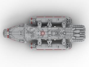 großes Mutterschiff