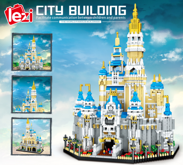 Castle (diamond blocks)