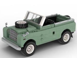 klassischer Geländewagen 4WD