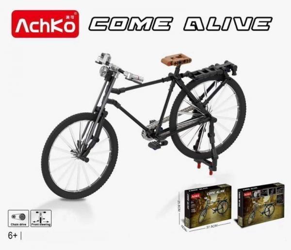 Fahrrad in schwarz