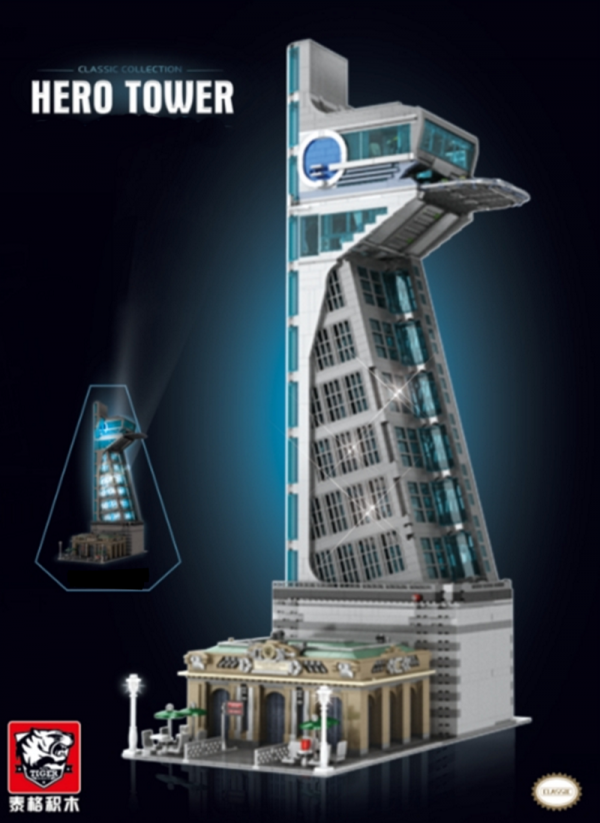 Skyscrapers Hero Tower