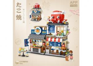 Takoyaki shop (mini blocks)