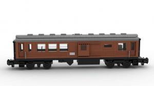Motorisierbarer Passagier- und Gepäckwagen