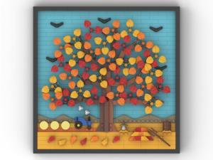 4 Jahreszeiten Herbst
