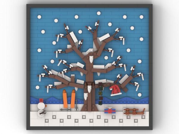 4 Jahreszeiten Winter