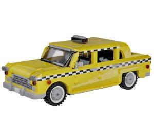 amerikanisches gelbes Taxi