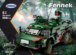 Spähwagen Fennek, Bundeswehr