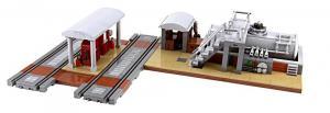 Diesel tank system for locomotives