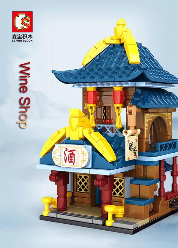Antiquity mini model series: Wine Shop