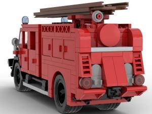 Klassischer Feuerwehr Einsatzwagen