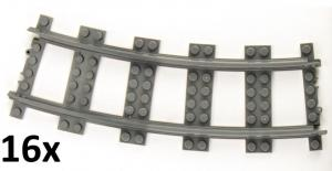 Track curved R56 16cm Track set, 16 pcs