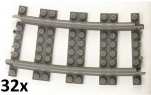 Track curved R72 16cm Track set, 32 pcs