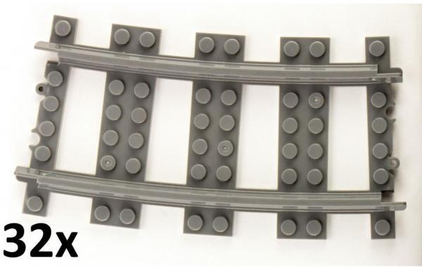 Track curved R72 16cm Track set, 32 pcs