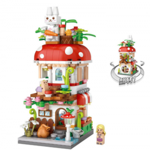 Mushroom House (mini blocks)