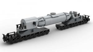 Liquid Steel Transport Trolley