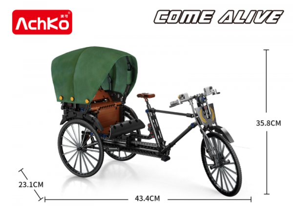 Fahrradrikscha aus dem alten ShangHai