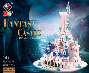 Fantasy-Schloss (diamond blocks)