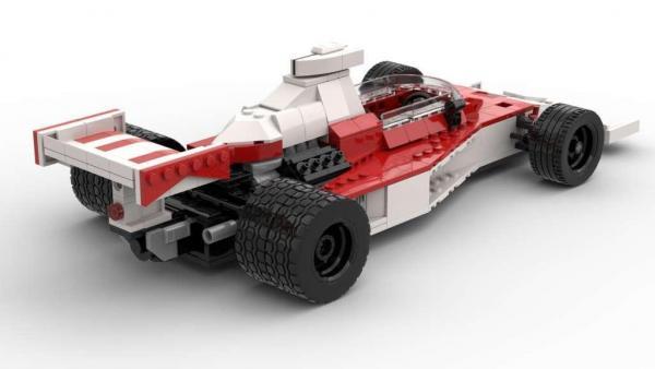 1974er Formel Wagen weiß/rot