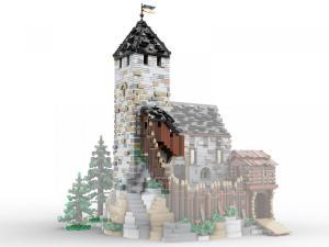 Bergfried Erweiterung für Burg Blaustein