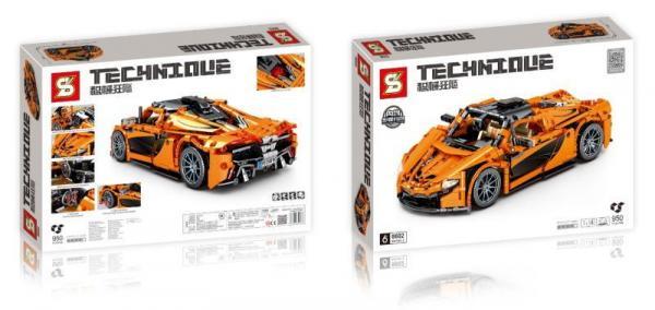 Racingcar in orange