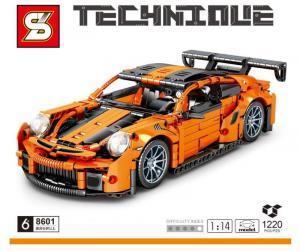Racingcar in orange/black