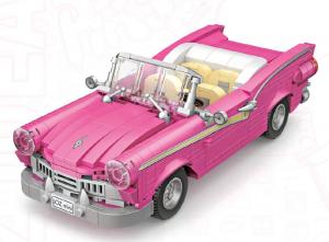 Pink Cabriolet (mini blocks)