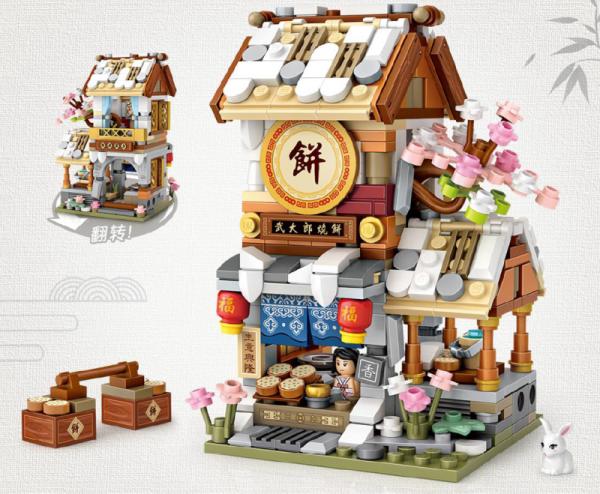 Biskuit-Laden (mini blocks)