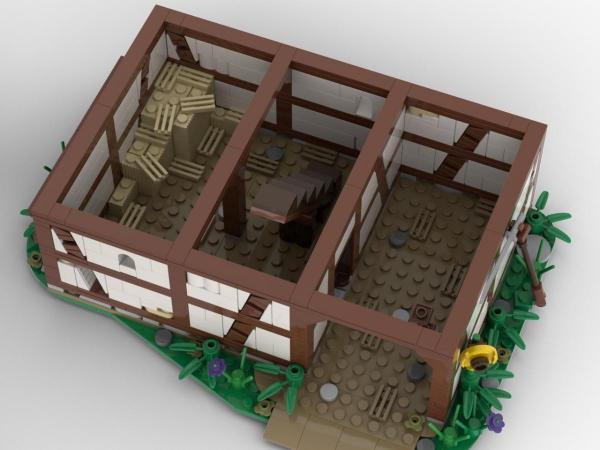 Mittelalterlicher Bauernhof