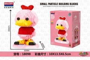 Duck in pink (diamond blocks)