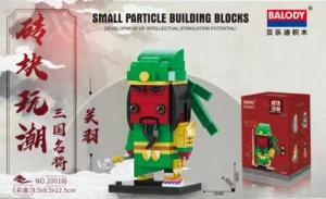 Warrior in green (Mini blocks)