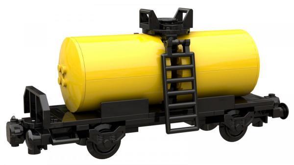 Kesselwagen schwarz gelb
