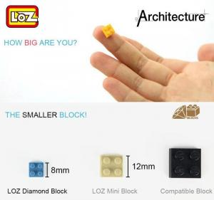 Sakura-Schaukel (mini blocks)