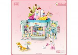 Ice cream shop (with small figure) (mini blocks)