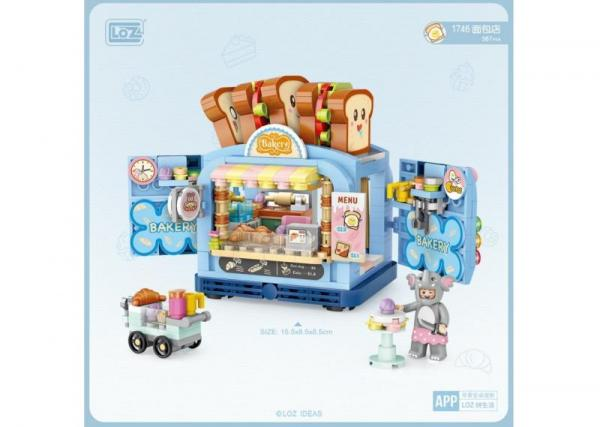 Bakery (with small figure) (mini blocks)