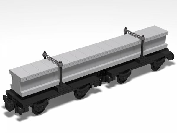 Long transport wagon