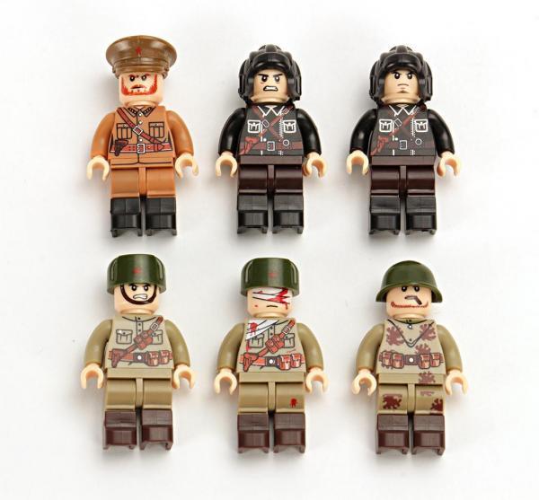 6x Sowjetische WWII Soldaten