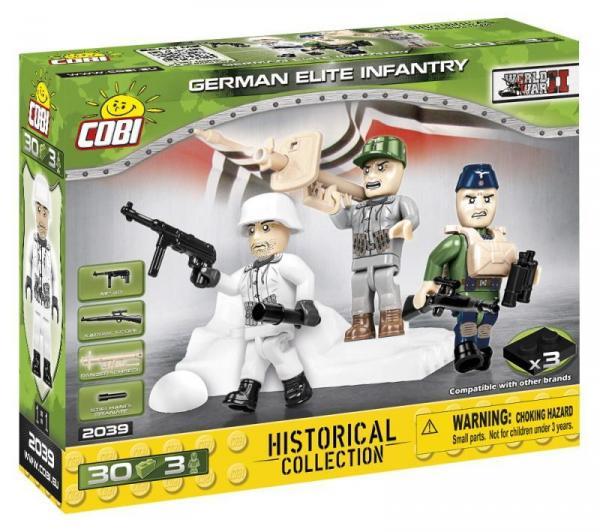 Deutsche Wehrmacht Elite Soldaten (3 Stück)