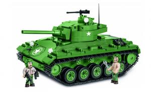 Tank U.S. Army M24 Chaffee