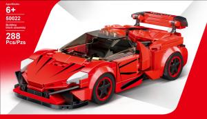 Super sports car red