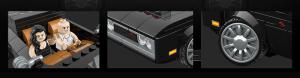 Muscle Car in schwarz