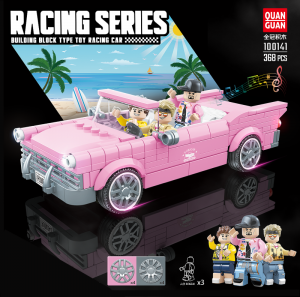 Convertible in pink