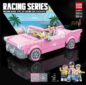 Cabriolet in rosa