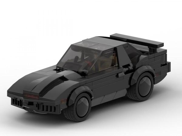 Amerikanischer Truck + Black Herocar