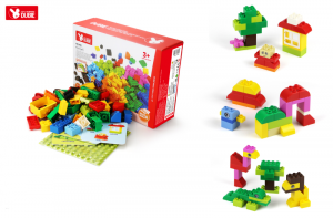 Basic Creative Set (73 Baby Bricks + 3 Cards)