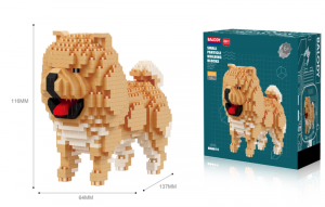 Chow Chow (diamond blocks)