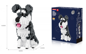 Schnauzer (diamond blocks)