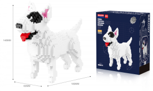 Bull Terrier (diamond blocks)