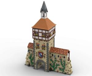 Timbered City Gate